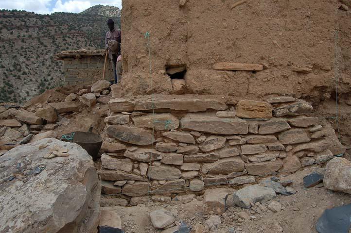 Mur pierre amezrai