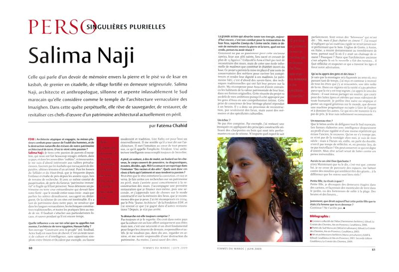 Femmes du Maroc juin 2009 copie