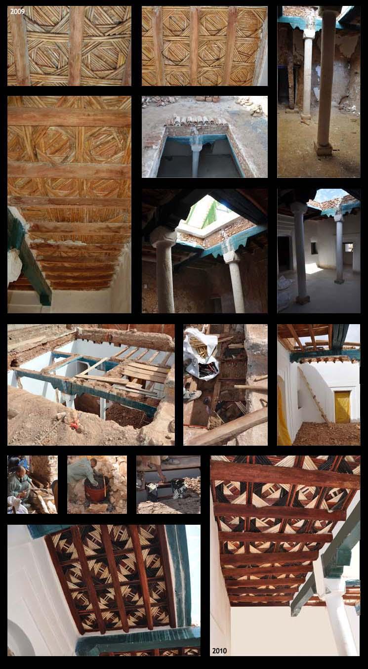 Etapes plafonds