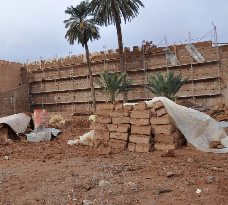 Earth rammed morocco