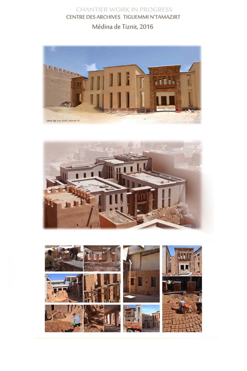 Centre des archives Tiznit salima_naji architecte