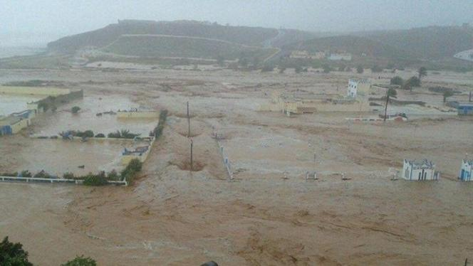 Sidi ifni sur sa zone inondable