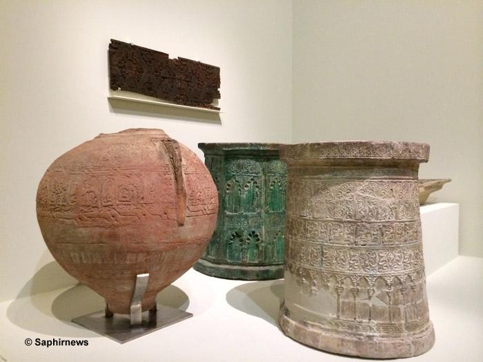 Jarres en céramique Louvre Andalous